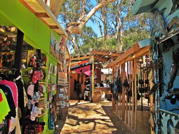 Booths, Sawdust Art Festival, Laguna Beach, California