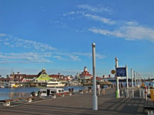 Pine Street Pier, pier in rainbow harbor, pier near lighthouse