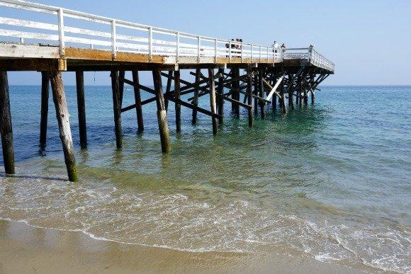 Paradise Cove Pier in Malibu, Los Angeles, California