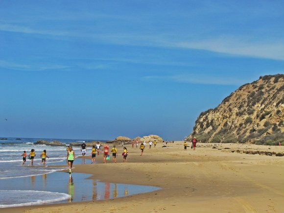 Moro Cove or Beach, Crystal Cove State Park, Laguna Beach, California