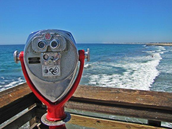 View from Newport Beach Pier, Newport Beach, California