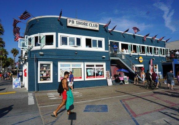 The Boardwalk at Pacific Beach, San Diego, California