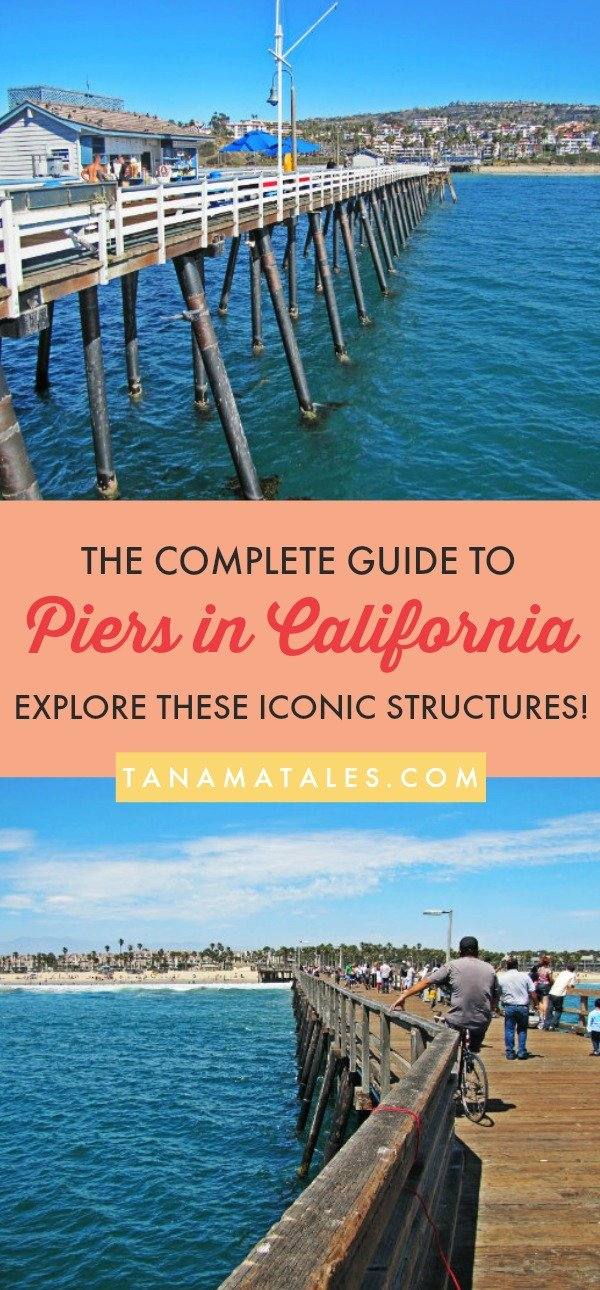 Things to do in Northern and Southern #California – Travel tips and vacation ideas – Since I am a pier lover, I have written a complete guide to the best piers in California. The article highlights the pier and gives you sightseeing ideas for the surrounding area. Add these to your bucket list and start exploring the beautiful beach in the state! #NorthernCalifornia #SouthernCalifornia #Beaches #Piers