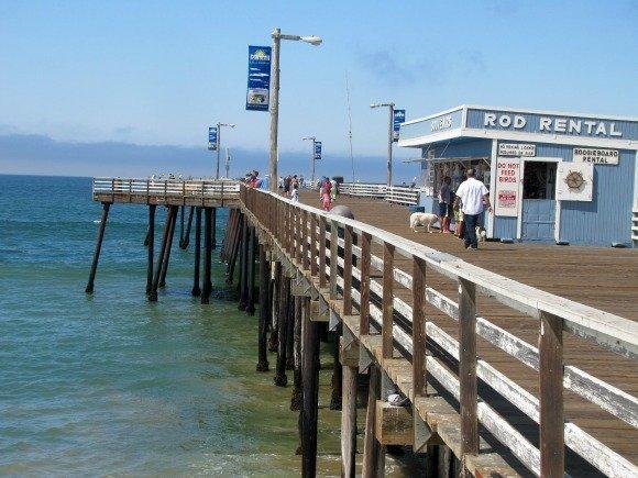 Pismo Beach Pier, San Luis Obispo, California