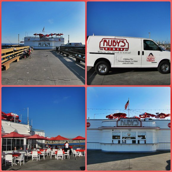 Original Ruby's Diner, Balboa Pier, Newport Beach, California