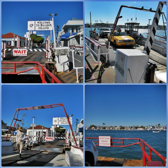 Balboa Island Ferry, Newport Beach, California