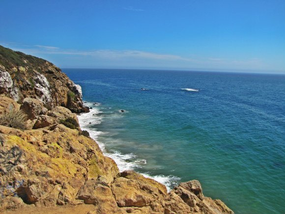 Views from the top of Point Dume, Malibu, California