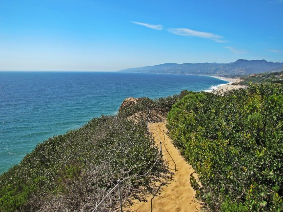 Trail at Point Dume Reserve, Malibu, California