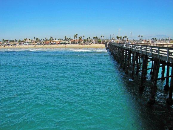 Newport Beach Pier, Newport Beach, California