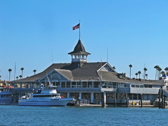 Balboa Pavillion, Newport Beach, California