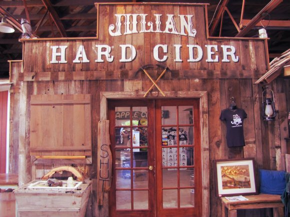 Julian hard cider, Julian, California