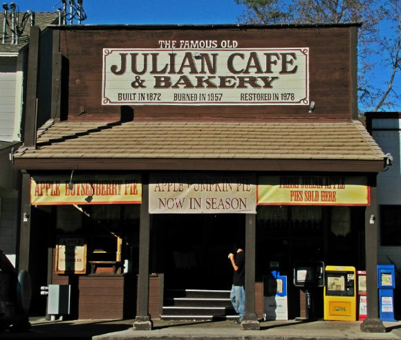 Julian Cafe, Julian, California