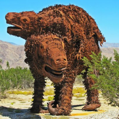Borrego Springs' Sculptures: Art the Desert