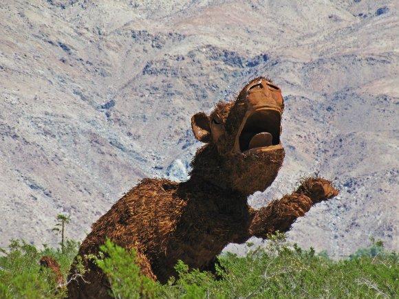 T-rex, Borrego Springs, California