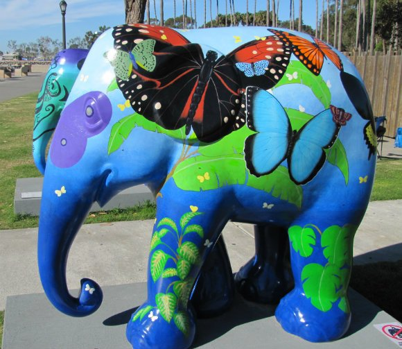 Elephant Parade, Welcome to America, Dana Point, California