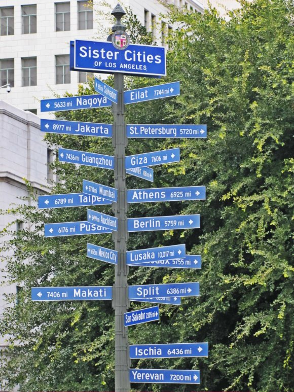 Los Angeles' Sister Cities, Los Angeles, California