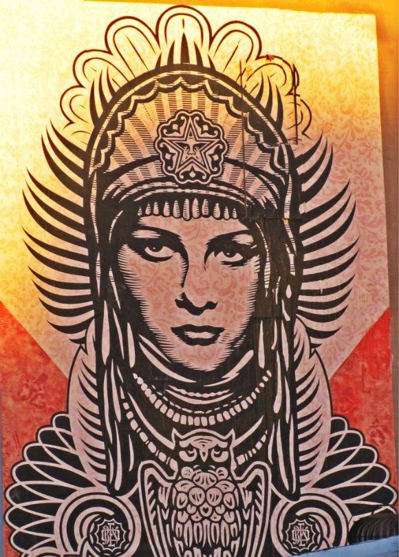 Grafiti in Arts District, Los Angeles, California