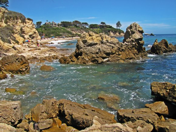 Rocks, Little Corona del Mar, Newport Beach, California