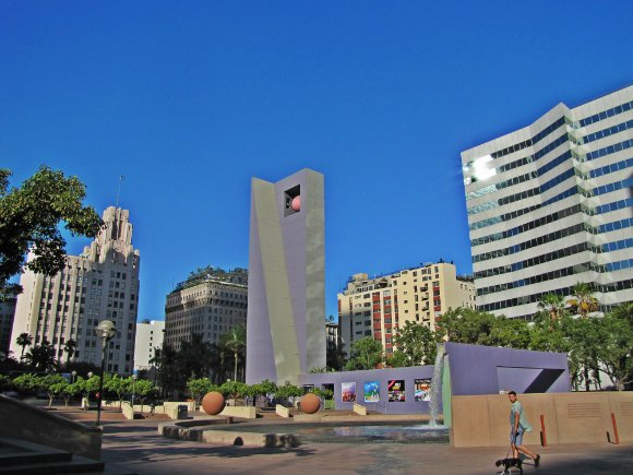 Pershing Square, Los Angeles, California