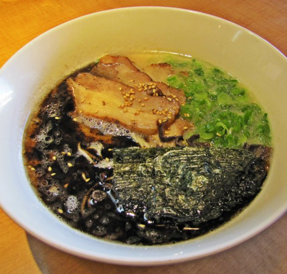 Black Ramen at Tatsu, Little Osaka, Los Angeles, California