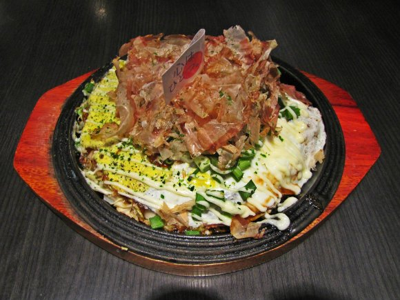 Okonomiyaki at Gottsui, Little Osaka, Los Angeles, California