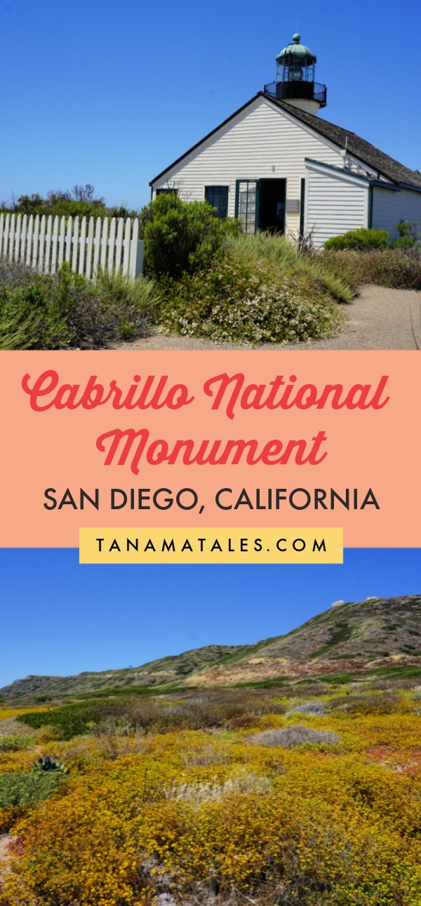Things to do in San Diego - Travel tips and vacation ideas - If you are visiting San Diego, I encourage you to stop by the Cabrillo National Monument located in the Point Loma Peninsula. It is an attraction to learn about the first Europeans to navigate the coast of #California and a place to enjoy lighthouses, tidepools, whale watching and wonderful ocean views. #SanDiego #SouthernCalifornia #roadtrip