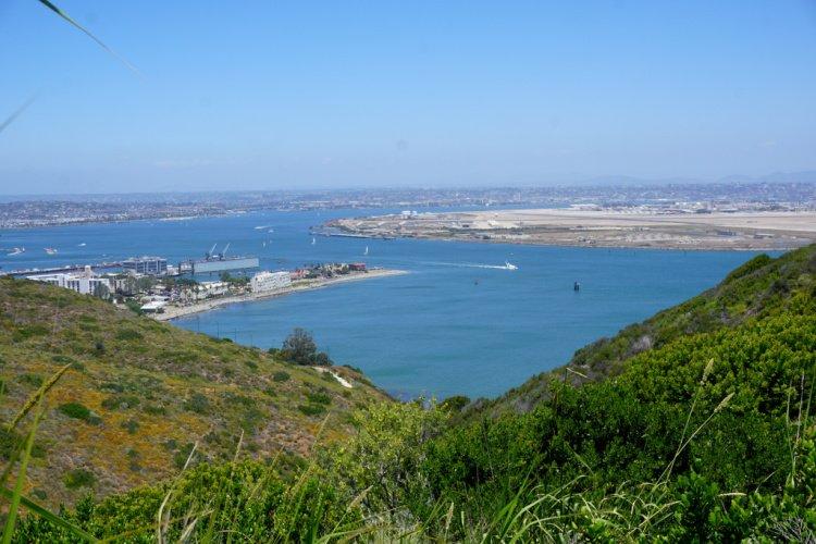 Ballast Point View, San Diego, California