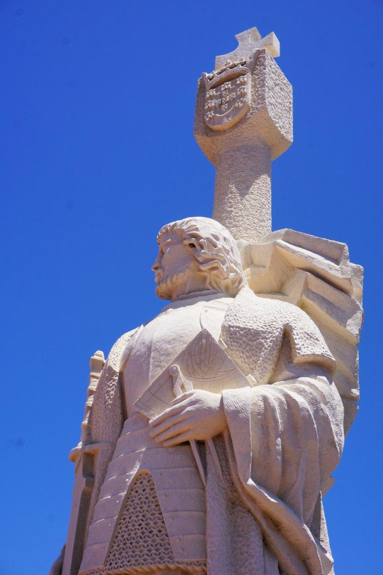 Cabrillo Statue at the Cabrillo National Monument, San Diego, California
