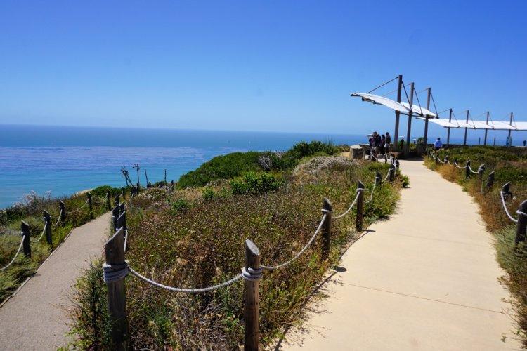 Whale overlook, Point Loma, San Diego, California