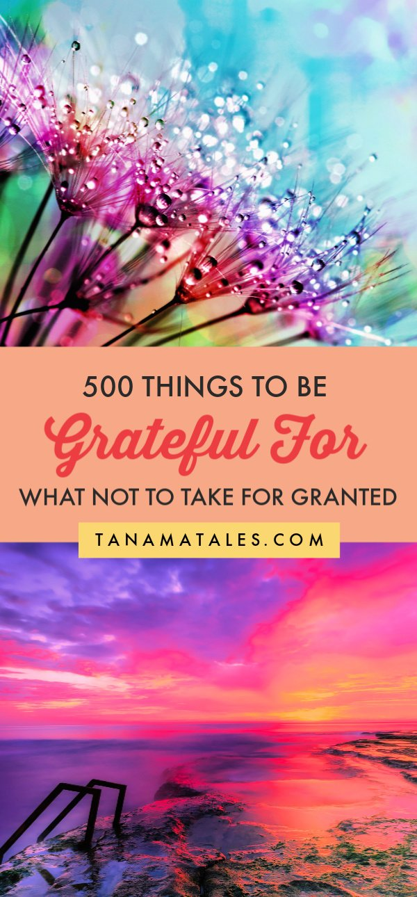 Travel has certainly provided me with a humongous amount of topics.  So, I asked myself, can I come up with 500 things that have inspired me to write throughout these years? The answer is yes! I was able to put together a list of 500 things to be #grateful for. The exercise was not that simple.  Behind each item in the list, there are emotions popping out. Hope you enjoy the list.  #inspiration #motivation