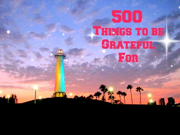500 travel related things to be thankful for
