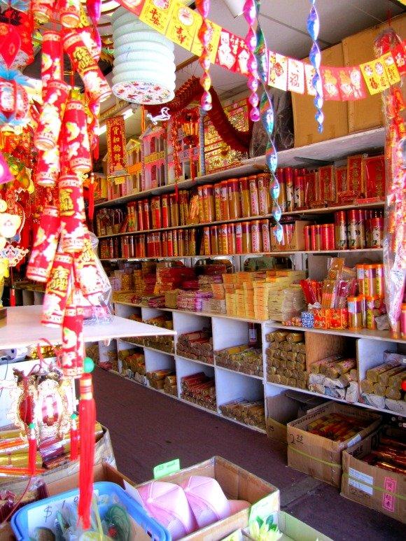 Trinket Shop, Chinatown, Los Angeles, California