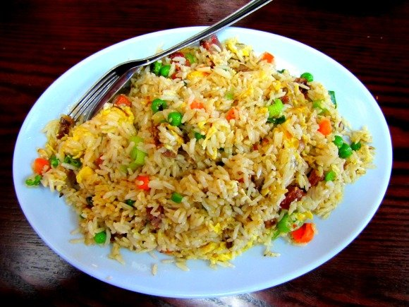 Fried rice from Kim Chuy, Chinatown, Los Angeles, California