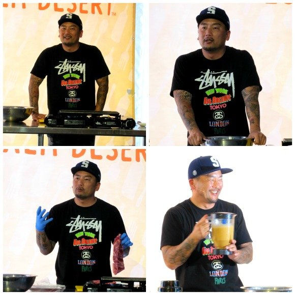 Roy Choi's Cooking Demonstration, Food Festival, Palm Desert, California