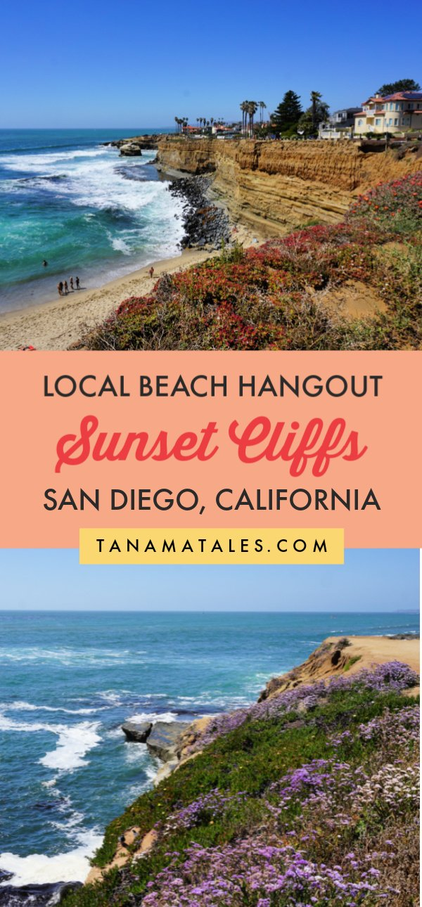 Things to do in #SanDiego, #California - The Sunset Cliffs Natural Park is a place where locals meet, take a dip in the ocean and watch the sunset. Come here to escape the touristic side of the San Diego and find tide pools, caves, arches, and coves. #SouthernCalifornia #PointLoma