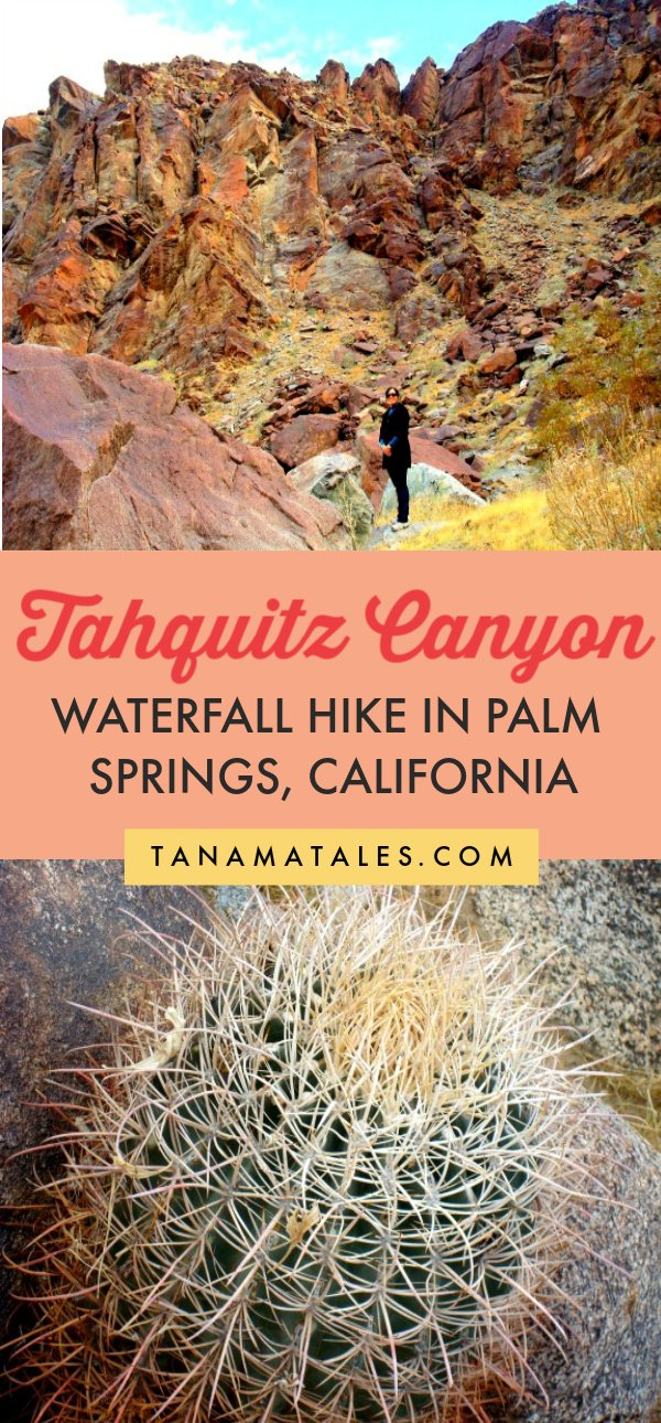 Things to do in Palm Springs and the Coachella Valley - Tahquitz Canyon is administered by the Agua Caliente Cahuilla Indians.  From the visitor's center, you can do a self or guided two-mile roundtrip hike (the guided hike is recommended).  This is one of the best hiking spots in the area since you will find a waterfall at the end of the canyon.  #Coachella #California