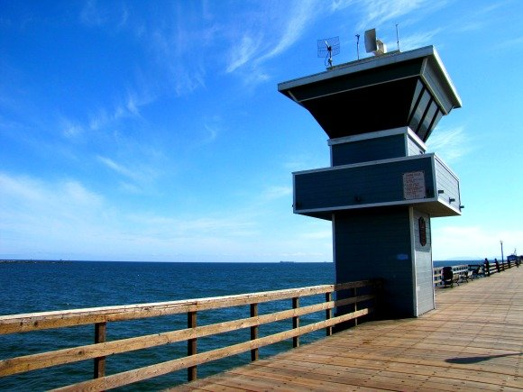 Lifeguard Tower, Seal Beach, California