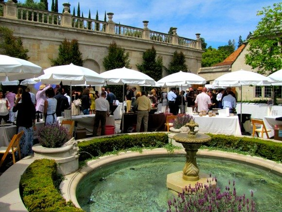 The event, Vintage Bouquet Extravaganza, Greystone Mansion, Beverly Hills