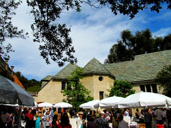 The event, Vintage Bouquet Extravaganza, Greystone Mansion, Beverly Hills