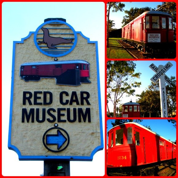 Red Car Museum, Seal Beach, California