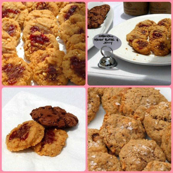 Cookies by the Velvet Rope Bake Shop, Vintage Bouquet Extravaganza, Greystone Mansion, Beverly Hills