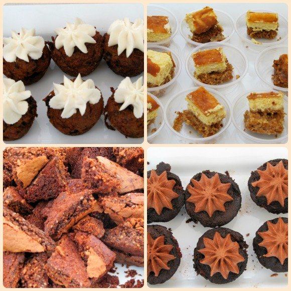 Baked goods samples by The Good Cookies & Beyong Bakery, Vintage Bouquet Extravaganza, Greystone Mansion, Beverly Hills