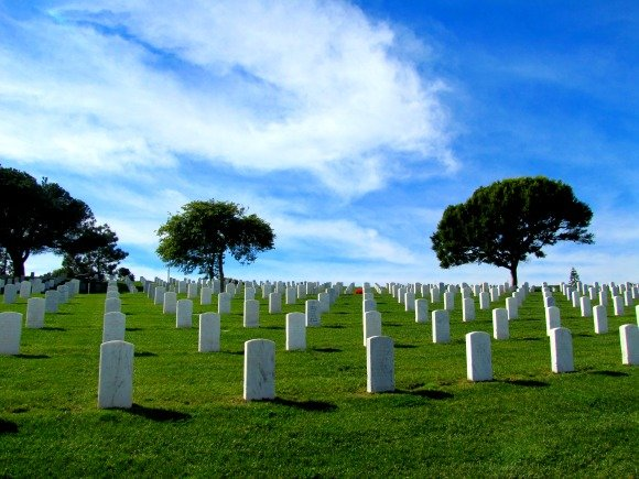 Fort Rosecrans National Cemetery, Point Loma, San Diego, California