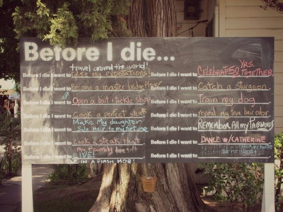 Before I Die, Ojai, California