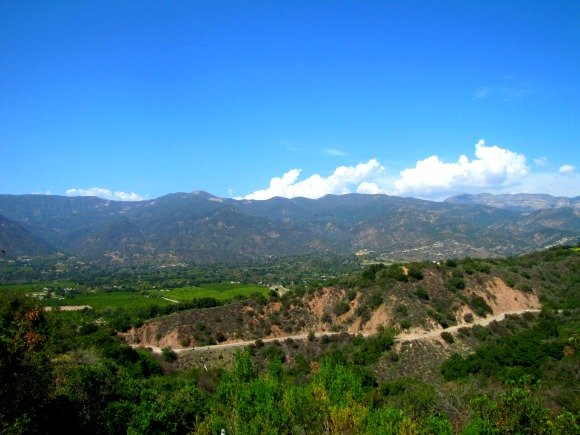 View of the Valley, Ojai, California