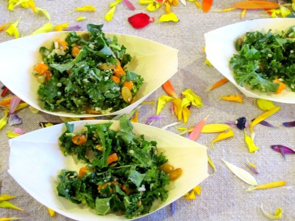 Kale Salad from Maro, Celebrity Cruises Great Food and Wine Festival, Orange County Great  Park, Irvine California