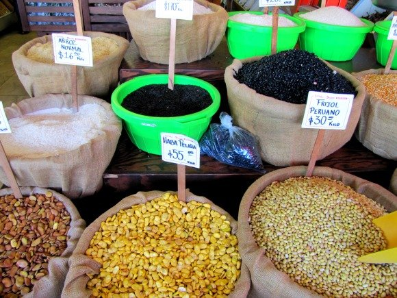 Grains, Mercado Hidalgo, Tijuana, Mexico