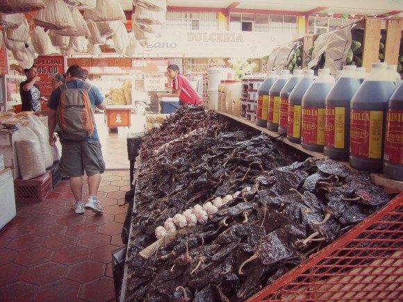 Chiles, Mercado Hidalgo, Tijuana, Mexico