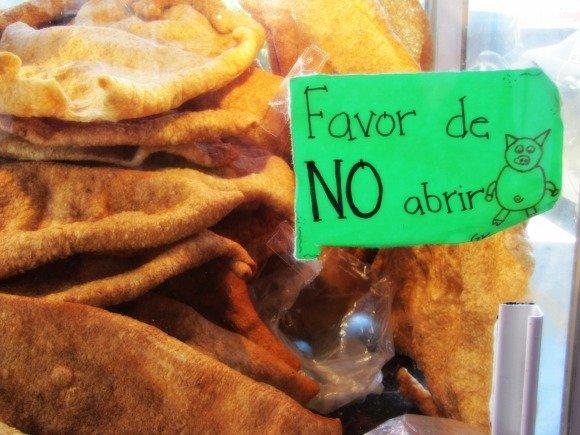 Chicharrones, Mercado Hidalgo, Tijuana, Mexico
