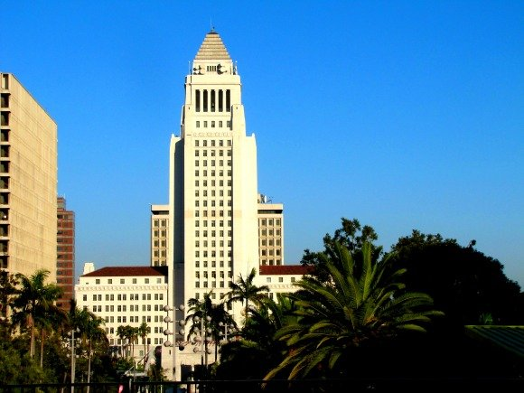 City Hall, Downtown Los Angeles, California